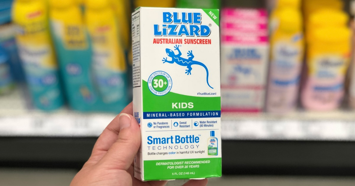 Blue Lizard Australian Sunscreen For Kids Just 10 49