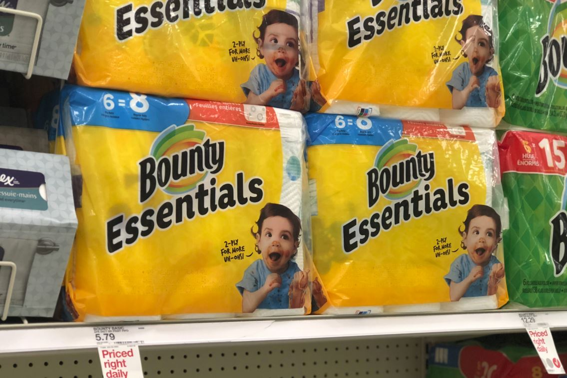 graphic regarding Bounty Coupons Printable known as Clean $1.50/1 Bounty Paper Towels Coupon - Hip2Preserve