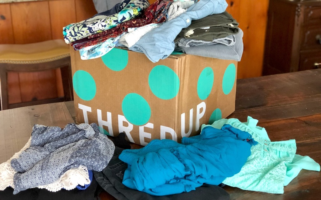 thredup goody box — all clothes