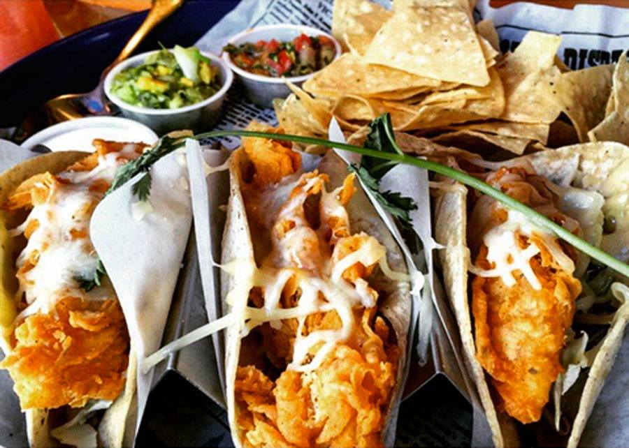 Stores, restaurants, hotels, and other places that offer senior discounts – Bubba Gump shrimp soft tacos