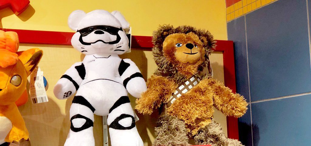 Build-A-Bear Star Wars Chewbacca and Stormtrooper