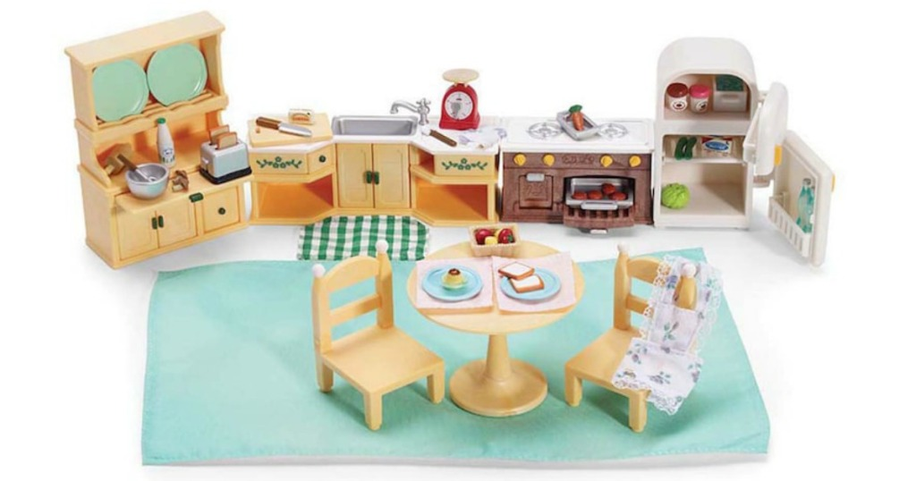 Up to 60 off calico critters sets at amazon a couponer - Calico critters deluxe living room set ...