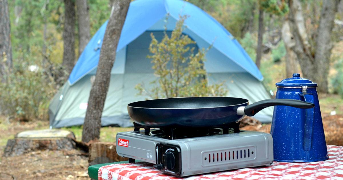 10 Camping Hacks Tips Diy Outdoor Toilet Campfire Cones