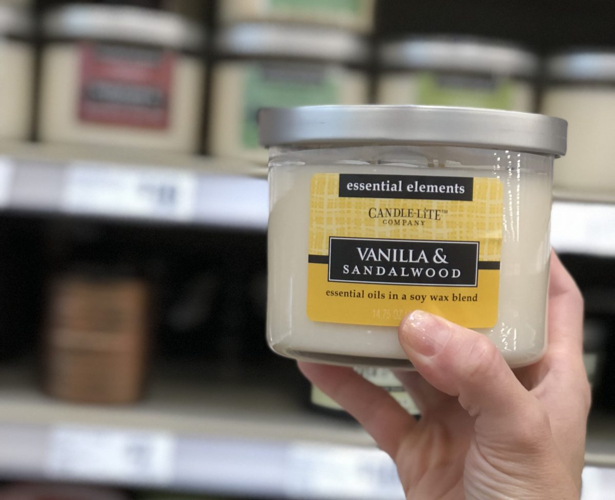 Bath & Body Works candle knockoffs include the Candle-Lite brand in Vanilla & Sandalwood