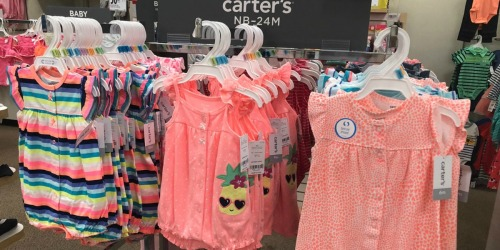 JCPenney.com: SIX Carter's Creepers ONLY $19.94 (Just $3.32 Each)