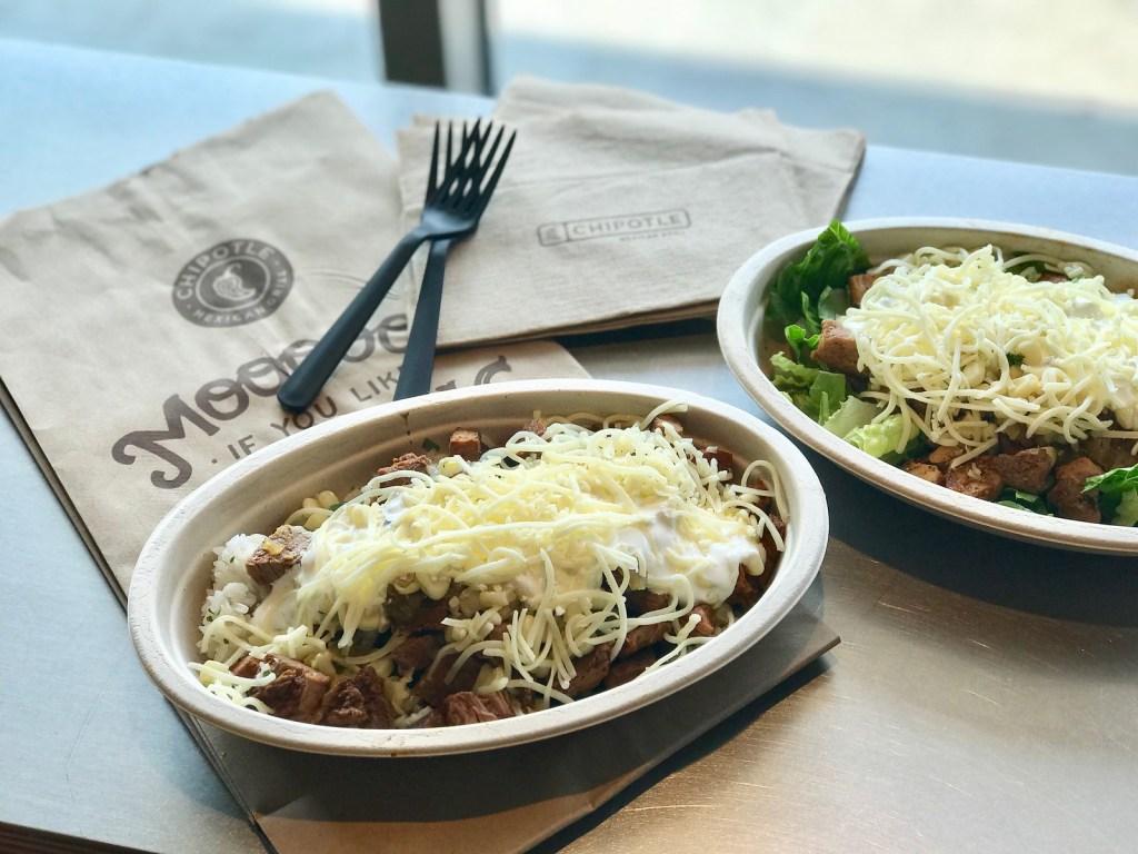 Buy 1 Get 1 Free Chipotle Burritos, Bowls, Salads, or Tacos