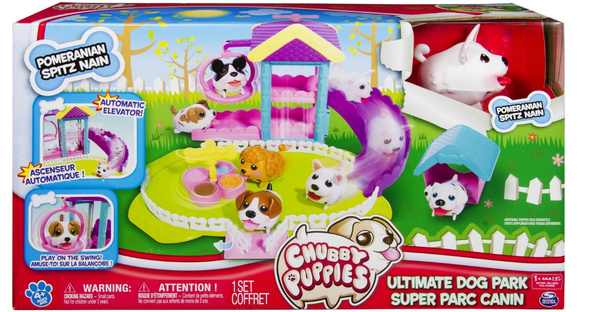 Chubby Puppies Ultimate Dog Park Play Set Only 9 97