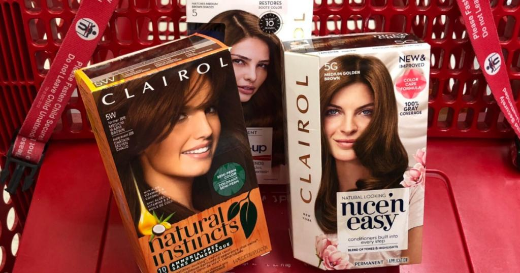 7 Worth Of New Clairol Hair Color Coupons A Couponers Life
