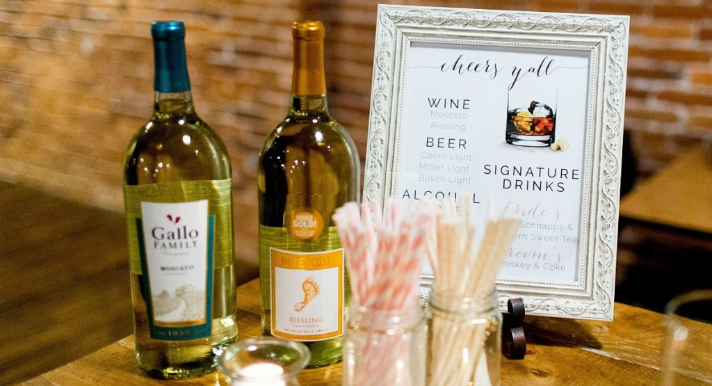 budget wedding tips - bring your own alcohol