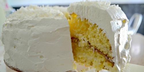 Stop Everything And Make This Easy Coconut Cake!