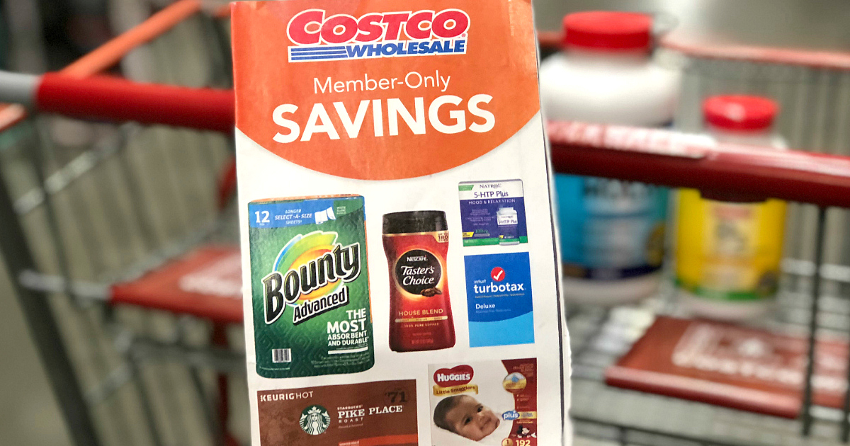 Costco member savings book