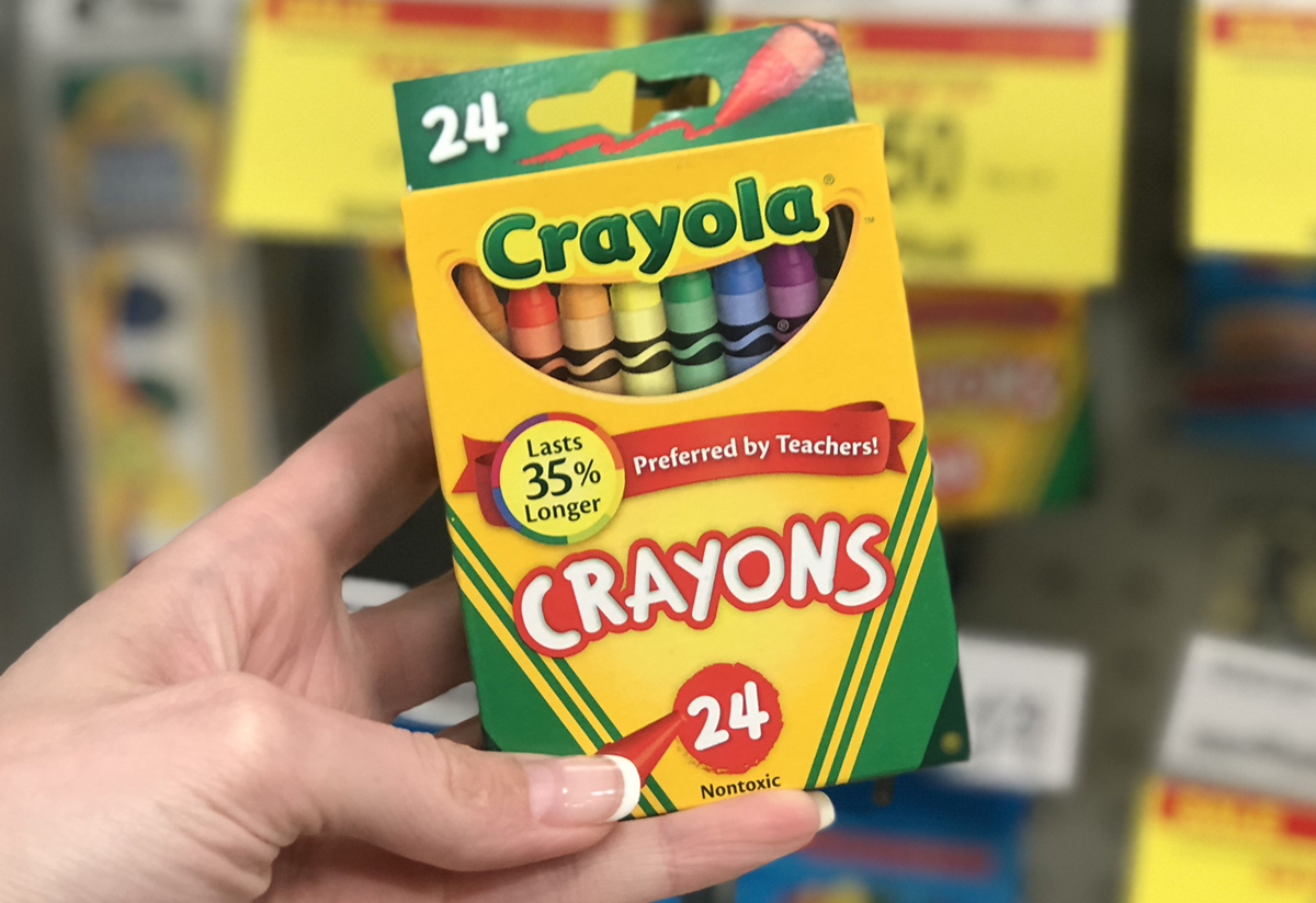 save money on school supplies with this free printable – Crayola Crayons