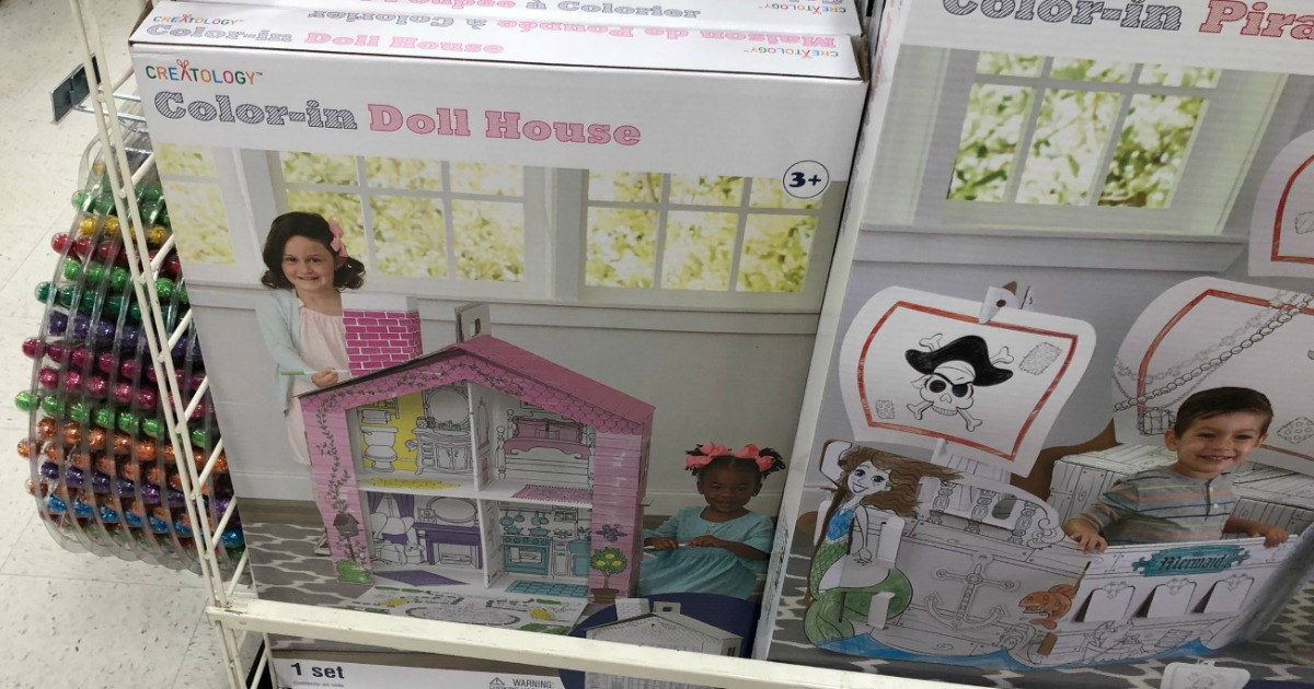 Michaels: Creatology Color-In Playhouses Only $15 (Regularly ...