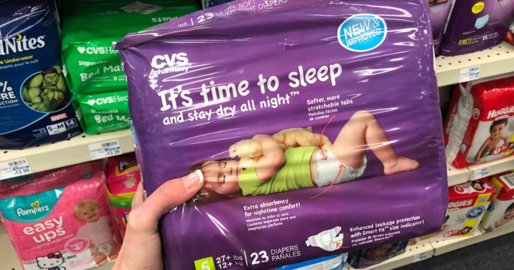 cvs brand diapers