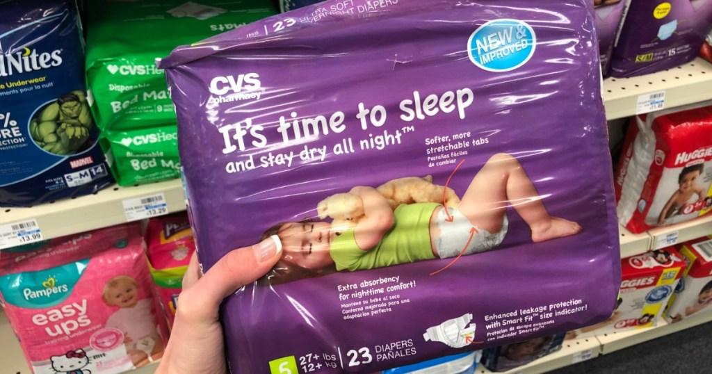 cvs brand diapers