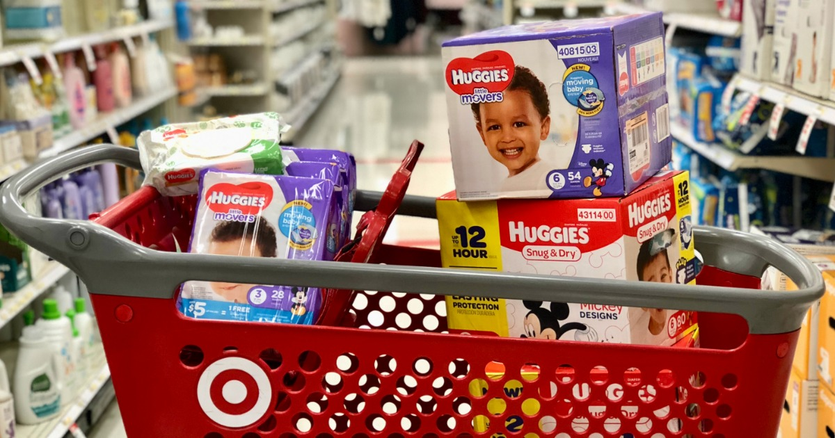 Hip2Save's guide to save money on disposable diapers — Diapers at Target