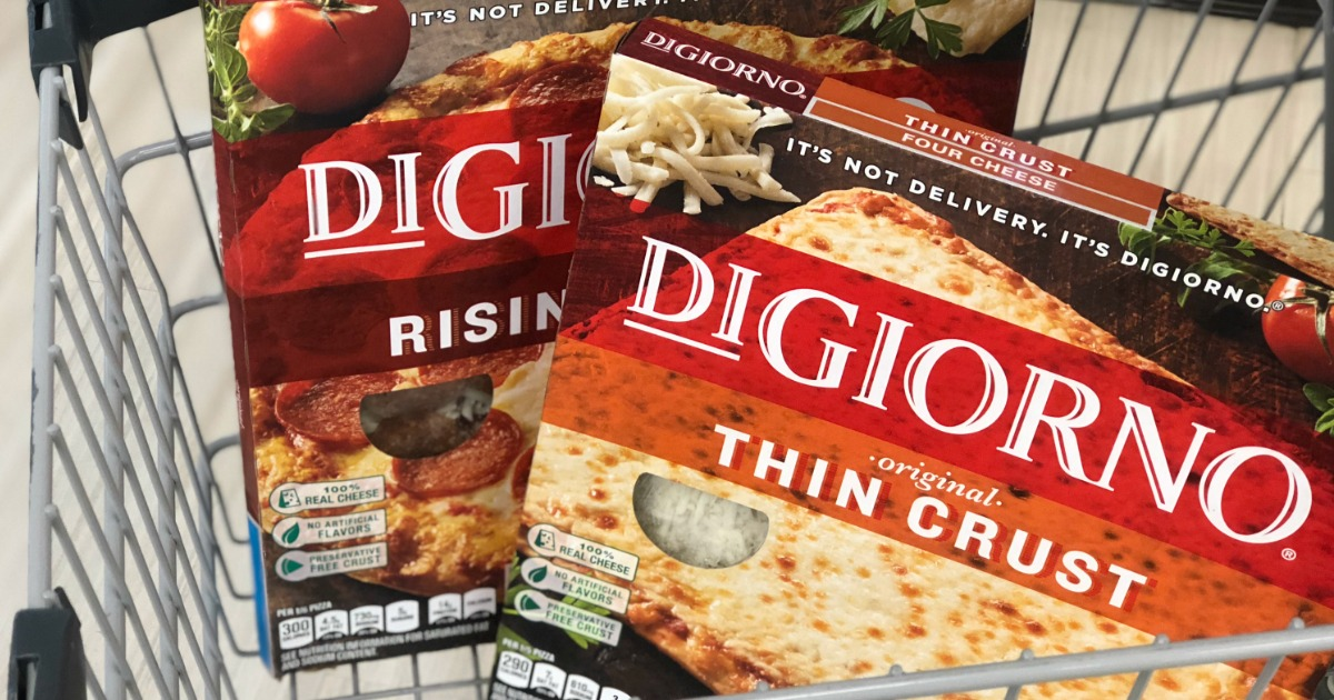 graphic regarding Digiorno Coupons Printable referred to as DiGiorno Pizzas Only $2.50 Each and every at CVS - Hip2Preserve