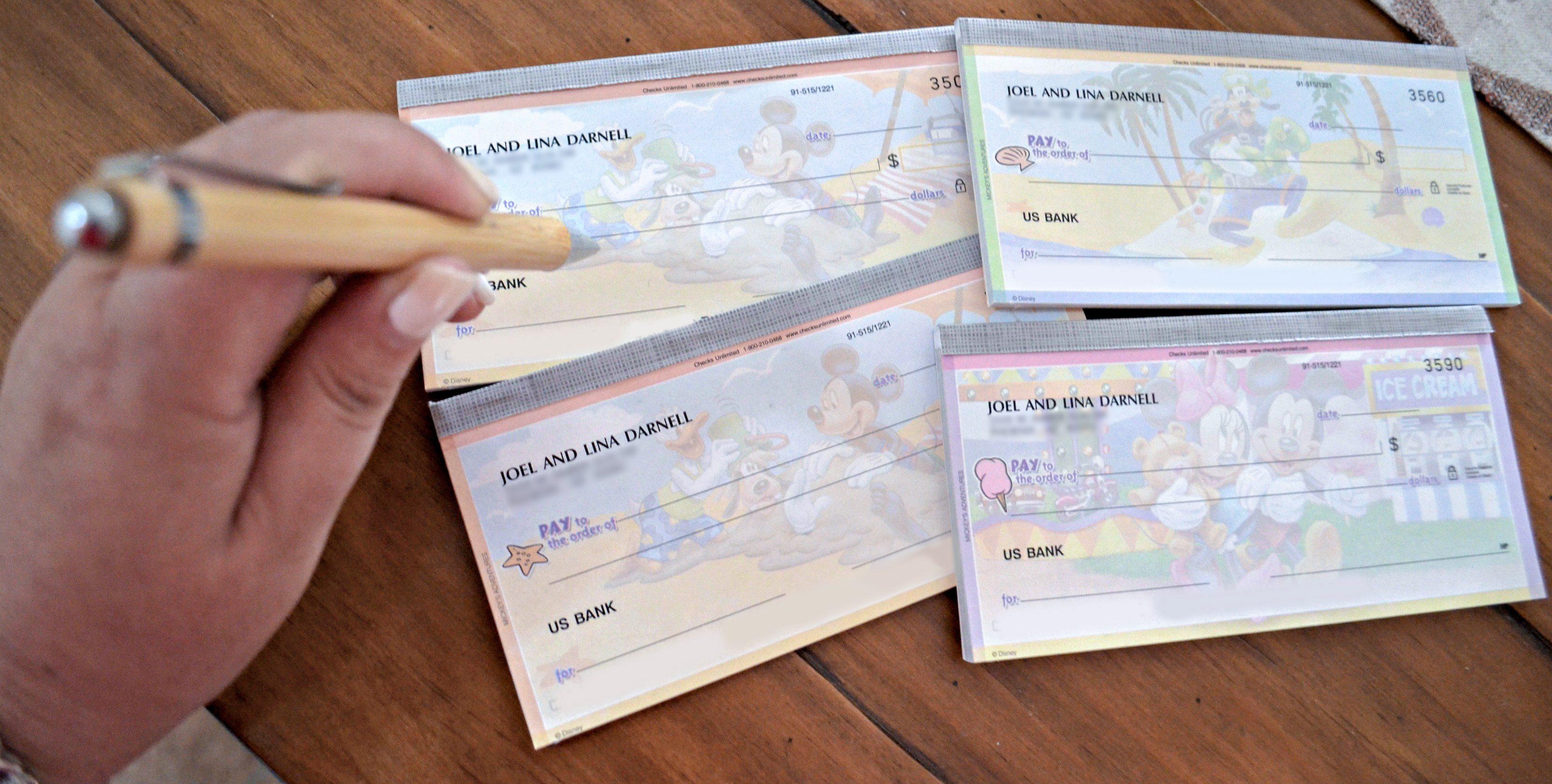 Checks unlimited custom checks deal - Blank checks