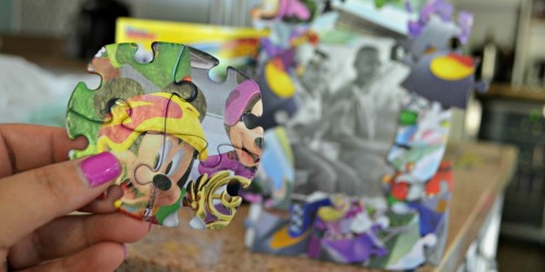 Make a Dollar Tree Disney Puzzle Frame (Perfect Disney Vacation Keepsake)