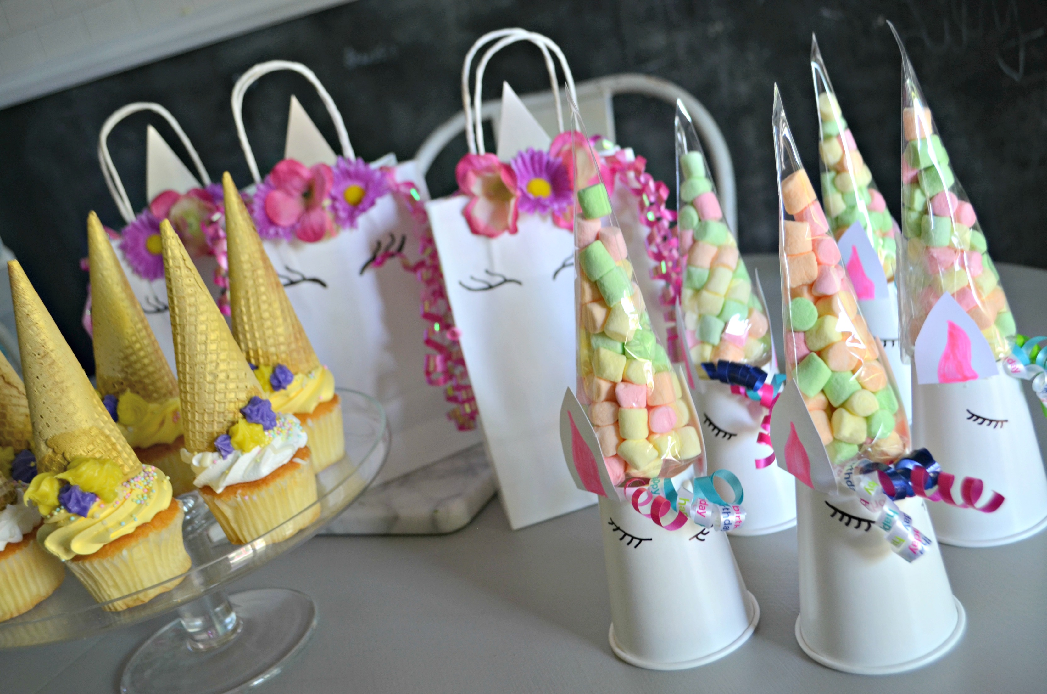 Simple prep is all you need for these easy DIY unicorn birthday party ideas.