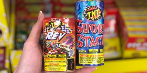 Fireworks Only $1 Each at Dollar Tree