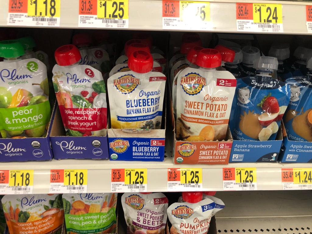 New Earths Best Coupons Organic Food Pouches Only 92 Each At