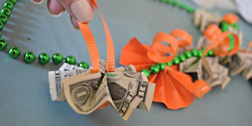 Graduation Gift DIY: Easy and Cool Money Lei