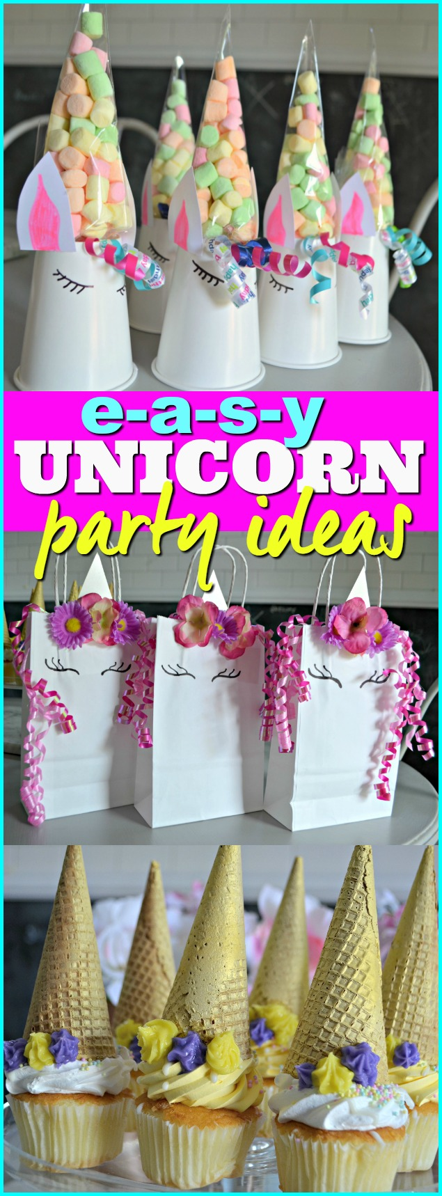 Make These 3 Frugal Cute And Easy Diy Unicorn Birthday Party Ideas Hip2save