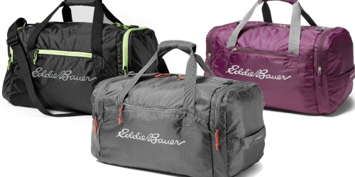 Eddie Bauer Stowaway Duffel Bags Only $20 (Regularly $40)