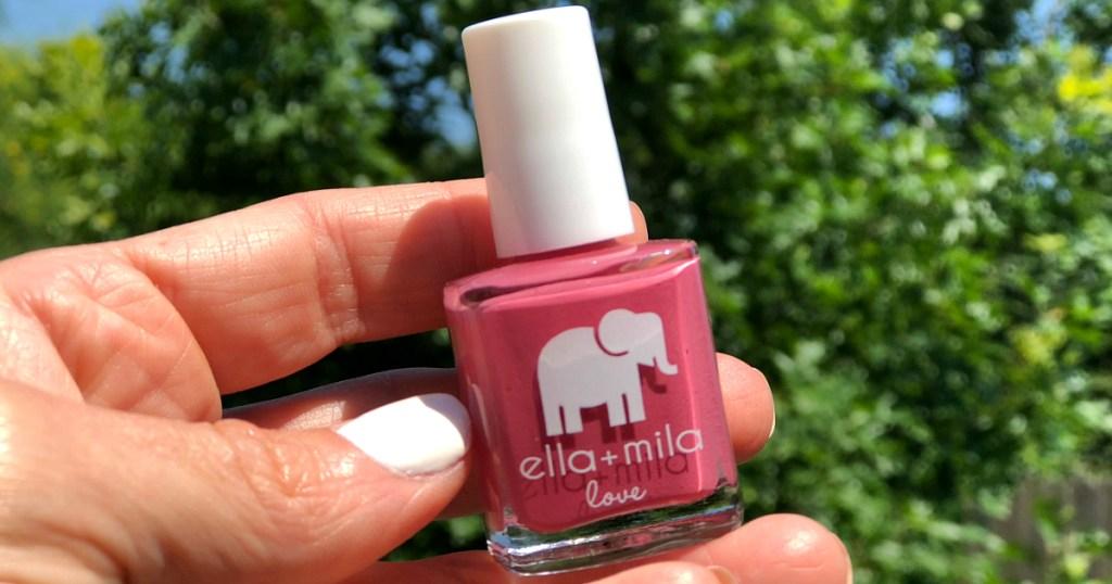 Ella + Mila nail colors