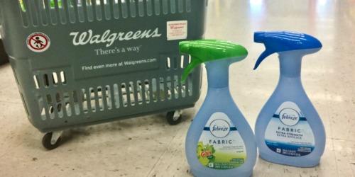 Febreze Fabric Refreshers Only $1 Each at Walgreens.com & More