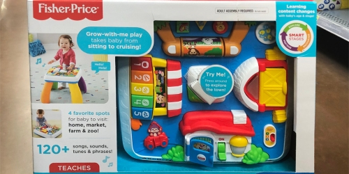 Fisher-Price Laugh & Learn Around the Town Learning Table Only $18.79 (Regularly $40)
