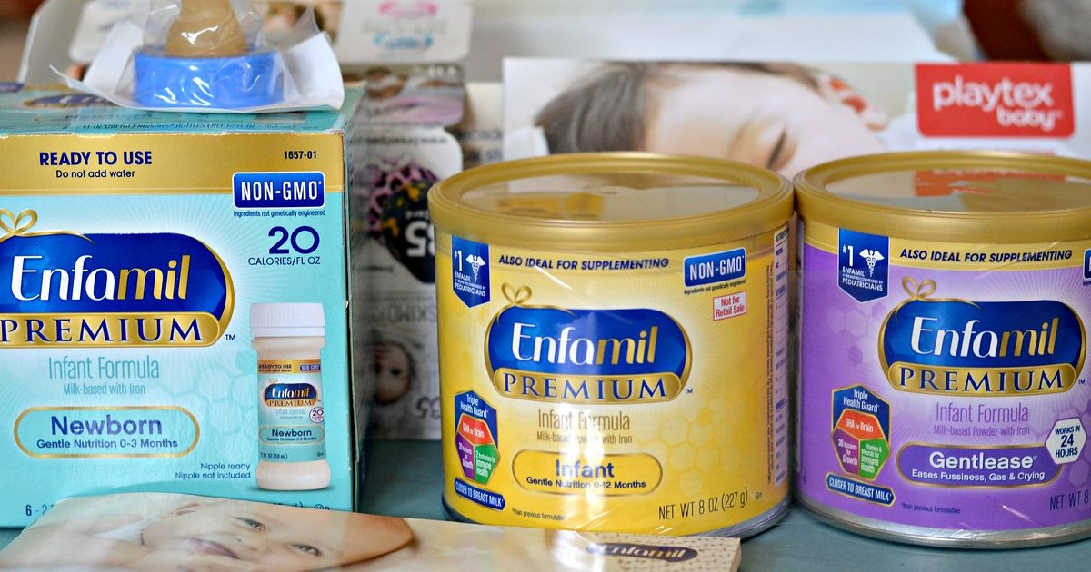 get free enfamil gifts – infant formula containers