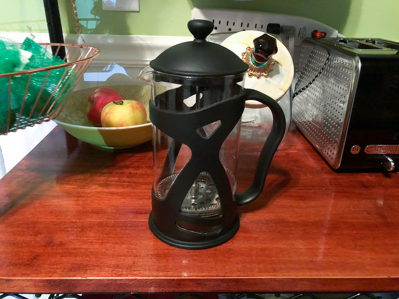 cold brew coffee making guide – French press