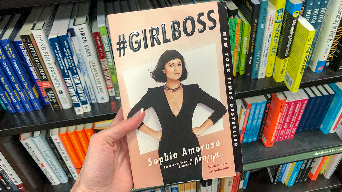 best Amazon self-help books — girlboss by sophia amoruso