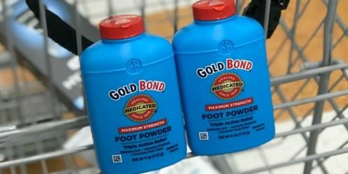 Cheap Gold Bond Medicated Powder, Schick Hydro Razors & More at Rite Aid (Starting 6/3)