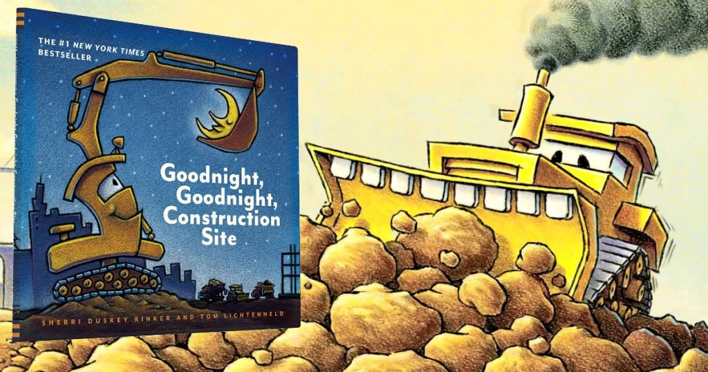 ff434a7b3bdc Hop on over to Amazon.com and snag the Kindle eBook version of Goodnight,  Goodnight Construction Site for just 99¢ (regularly $4.99)!