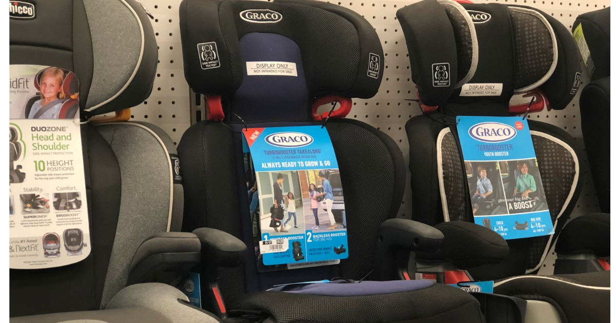 Graco TurboBooster TakeAlong Backless Booster Car Seat 5109 NEW Jacks