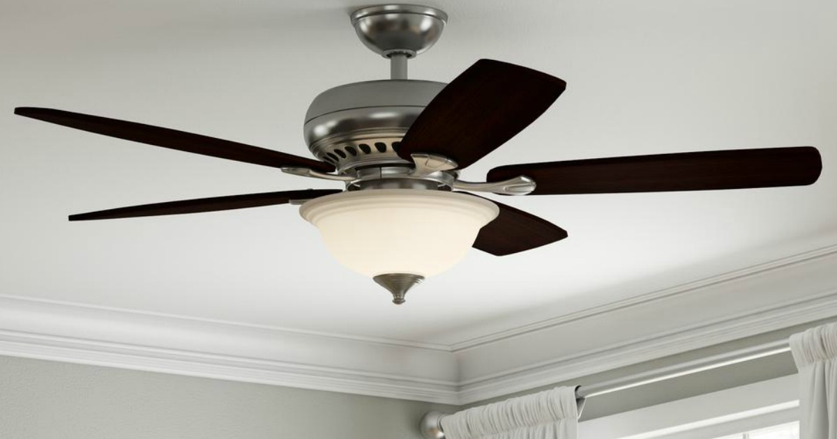 Home Depot: Hampton Bay Lighted Ceiling Fan With Remote