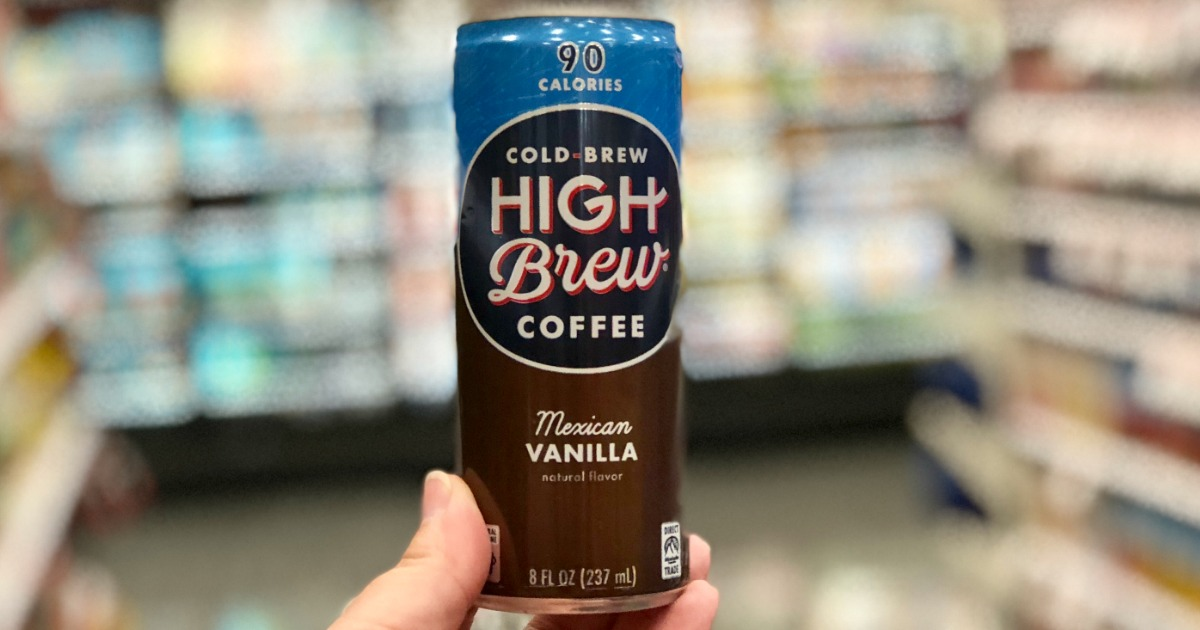 cold brew coffee making guide – high brew coffee in a can