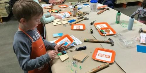 FREE Home Depot Kids Workshop to Build Sled w/ Reindeer on December 1st (Register Now)