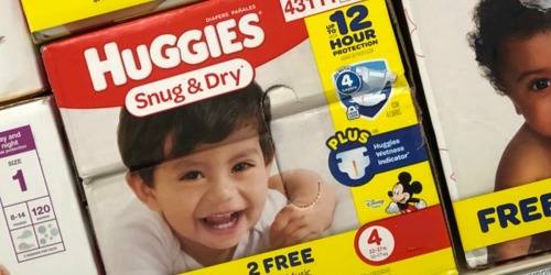 Earn FREE Diapers, Toys, Gift Cards & More with Huggies Rewards Program