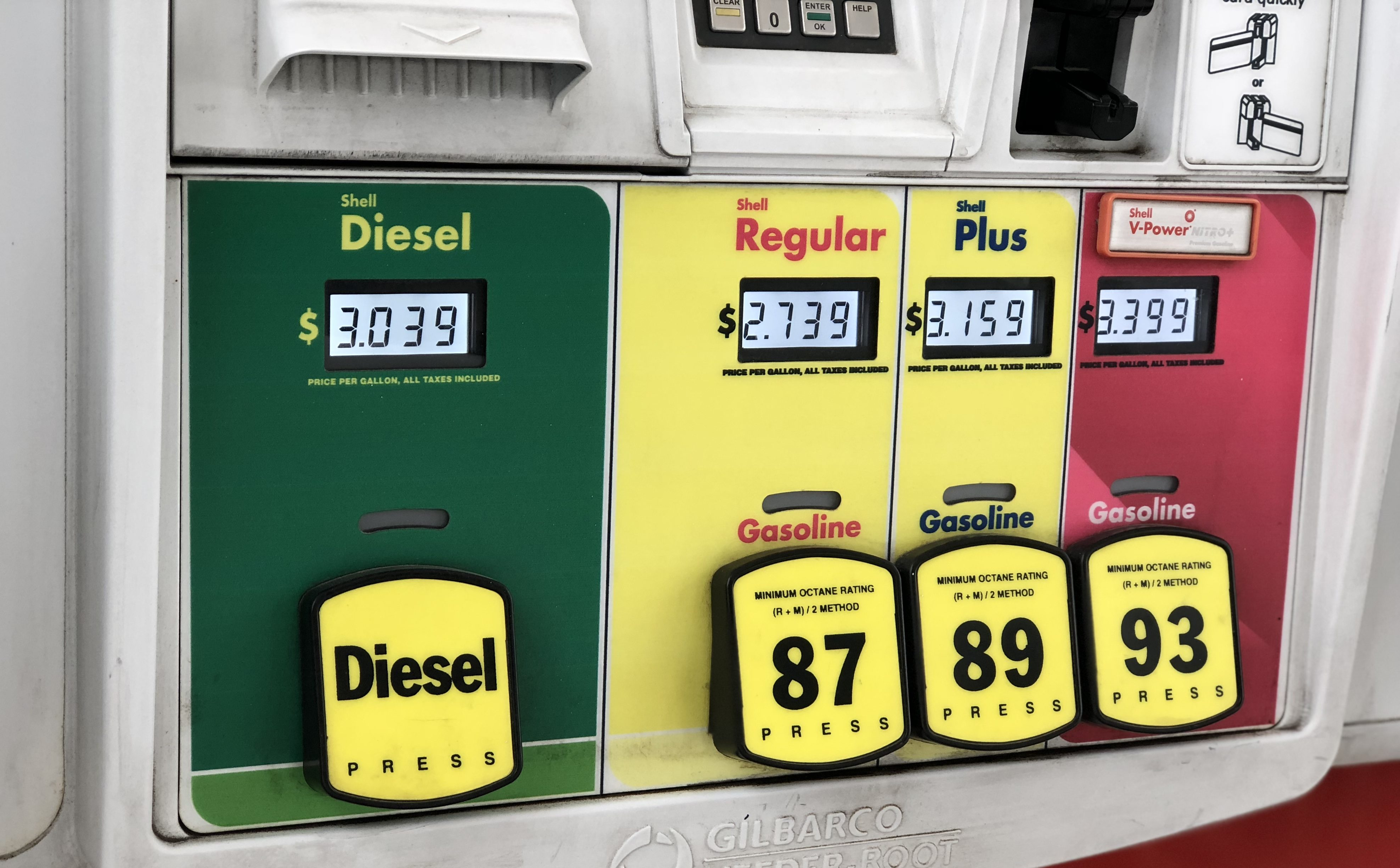 simple tips to save money on gas – gas pumps