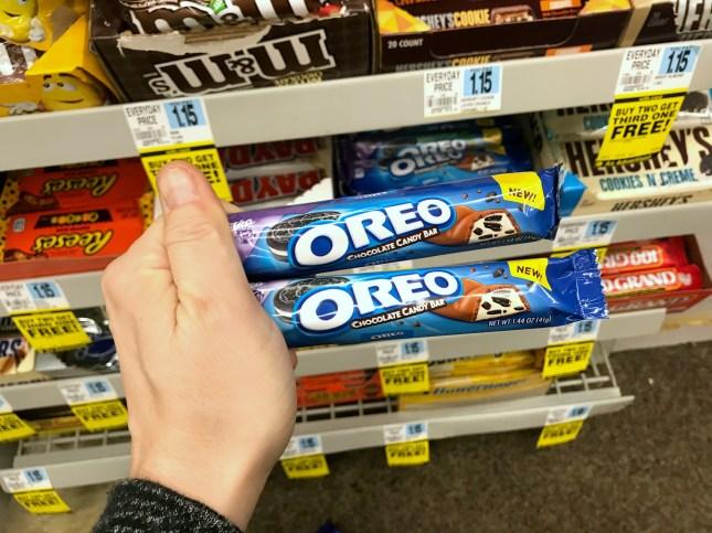 Rite Aid Oreo Candy Bars
