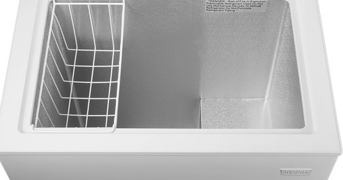 BestBuy.com: Insignia Chest Freezer Just $99.99 (Regularly $170)