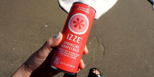 Amazon: IZZE Sparkling Juice 24-Count Variety Pack Just $9.42 Shipped (Only 39¢ Per Can)