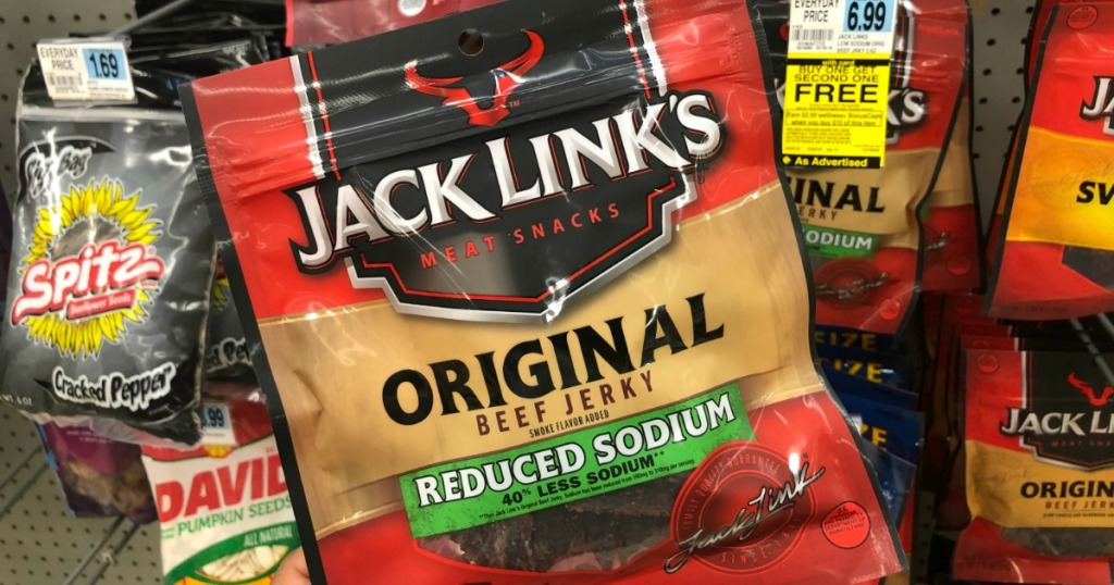 Rite Aid: Jack Link's Beef Jerky Only $1 83 Per Bag
