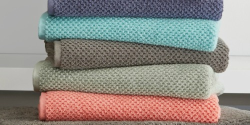 Quick Dri Solid Bath Towels $3.99 Each When You Buy Five at JCPenney (Regularly $14 Each)