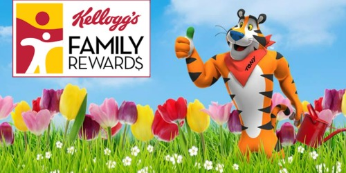Add 50 More Kellogg's Family Rewards Points