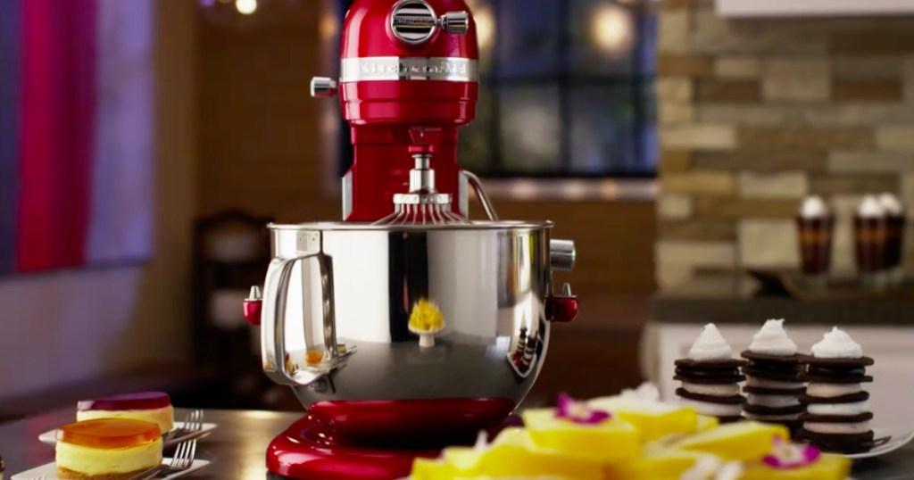 KitchenAid 7-Quart Bowl Lift Stand Mixer Only $269.99 ...